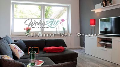 Photo for Modern and stylish furnished apartment in the center of Oldenburg