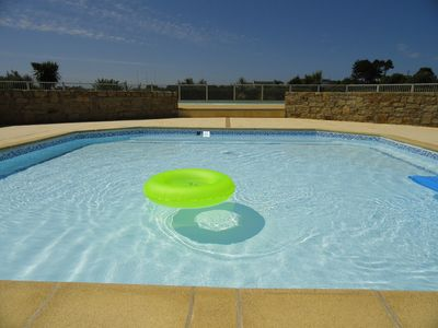 Photo for House by the sea with pool POULDU PLAGE