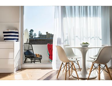 Photo for Chic apartment footsteps from Manly Beach