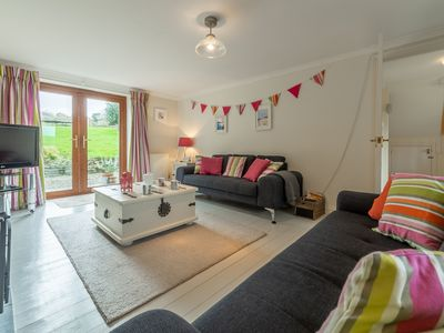 Photo for Curlew's Cwtch is a cosy yet contemporary three bedroom holiday home.