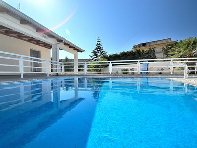 Photo for AL062 Villa with private swimming pool up to 10 seats air-conditioned wi-fi bbq park