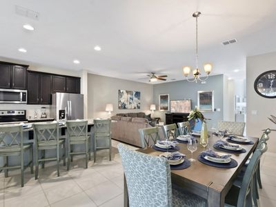 Photo for ⚜ NEW!⚜ Luxury 4 Bedroom Home Steps to Disney FREE Resort Amenities📍