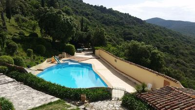 Photo for Provençal Bastide for 9 people with swimming pool - Hyères