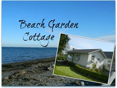 Photo for Beach Garden Cottage with Beautiful Water View