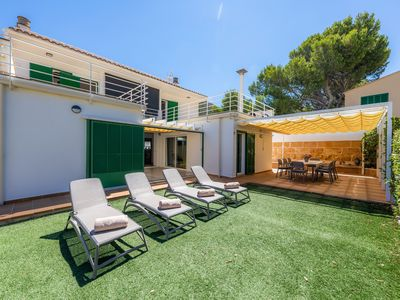 Photo for Holiday Home Can Roig Loft with Mountain View, Wi-Fi, Balcony, Terrace & Garden; Street Parking Available