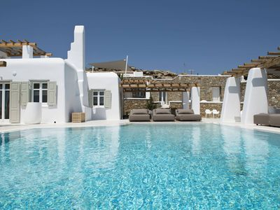 Photo for Villa Opallia in Mykonos, luxury villa with pool, 8 bedrooms, it can accommodate up to 16 guests