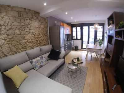 Photo for Loft apartment with terrace and parking in the historic center of Oviedo