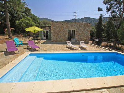 Photo for Barn 2 bedrooms, air conditioning, private pool, garden, comfort and tranquility