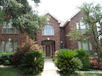 Photo for Beautiful Home With Private Pool/Spa! La Cantera Mall/Six Flag Fiesta /Sea World