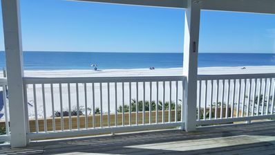 Photo for Remodel complete! Gorgeous gulf front home with private pool!