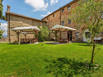Photo for Rustic Holiday Home in Città di Castello with Swimming Pool