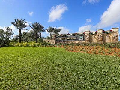 Photo for Beautiful 2 bedroom 2 bath pool home in the luxurious community of Sarasota National