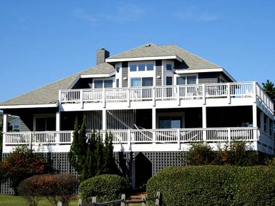 Photo for #CL808: Partial OCEANVIEW Corolla w/PRVTPool, HotTub & RecRm, DogFriendly