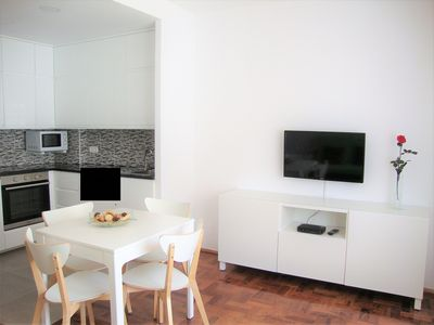 Photo for Apartment T1 - In the city center and 300 m from the beach