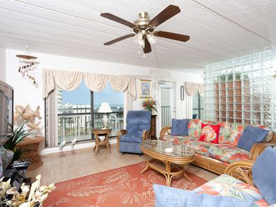 Photo for Saida IV 709 - Oceanfront Condo w/ Private Balcony, Luxurious Grounds, Direct Beach Access