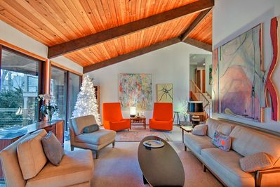 Recharge in the midst of mid-century modern charm in this vacation rental home.