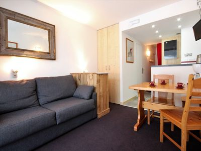 Photo for Studio 3/4 persons with balcony, residence Armoise