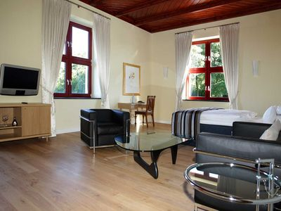 Photo for Large double room in the castle - Ranzow Castle - holiday on the golf course