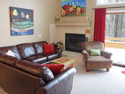 Lovely 2 Bdrm Loft, 2 Bath Trout Creek Condo #113. On-Site Pools, Tennis. Free Shuttle to Nubs Nob