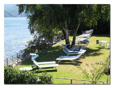 Photo for 2½-room-rustico with large terrace in a quiet and sunny location directly on the beach