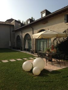 Photo for Relais Corte Paradiso - Charming houses on Lake Garda - Three-room flat terr
