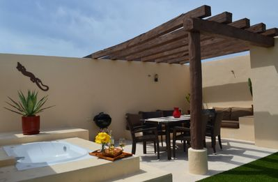 Photo for Aqua Terra - Contemporary PH with Amazing Roof Top Terrace - BBQ - 2 Bedroom