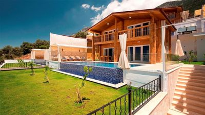 Photo for 2 Bedroom Luxury Villa With Seaview, Private Secluded Pool Villa in Turkey