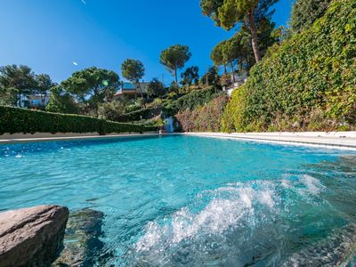 Photo for Club Villamar - Lovely villa for 10 person with sea view and swimming pool near Barcelona