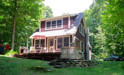 Photo for Private House with 50 Acres on the Mad River!
