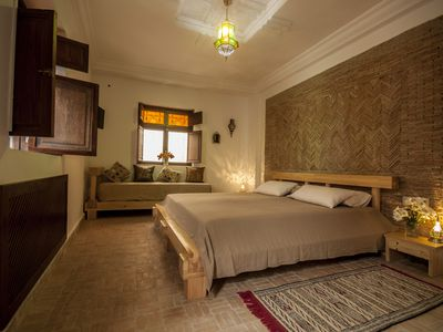 Photo for Private room (khamiis) in a traditional Riad