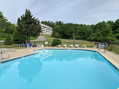 Photo for Cedar Lodge with all the comforts of home.  One bedroom condominium suite, Lake