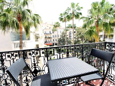 Photo for 2 bedrooms apartment with 1 mezzanine top location in the heart of Cannes
