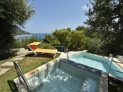 Photo for A pico su mare semi-detached villa free on three sides, 500 meters from the sea