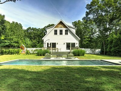 Photo for East Hampton Family Friendly Summer Home close to beach and village