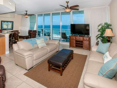 Check out the view from 17th floor west corner | Outdoor/Kiddie pools, Beach Access, Fitness, Sauna