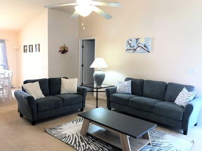 Large, open living room!