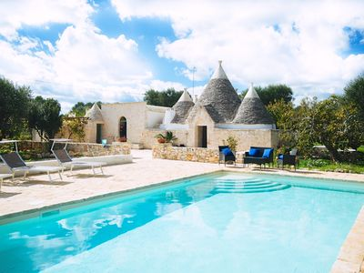 Photo for Trullo Pace: Amazing Trullo with Pool