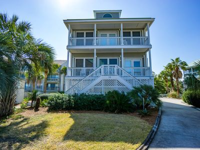 Photo for Beach and Pool Views!! Pool and Beach access steps from Front Door