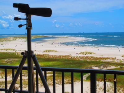 Photo for Beachfront, indoor/outdoor pool. Best view on Gulf Coast!No fees by owner.