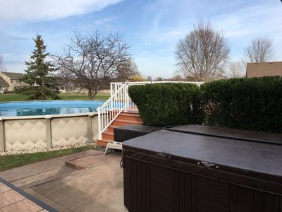 Photo for Great EAA Location. Perfect home for a Family, with Pool and Hot Tub