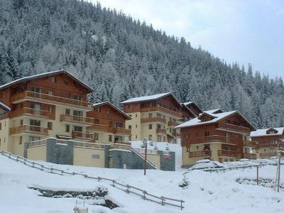 Photo for Surface area : about 36 m². 2nd floor. Orientation : West. View mountain and Ski slopes