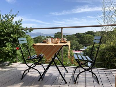 Photo for Holiday home in Giens with stunning views over the bay of Almanarre