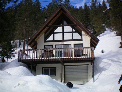 Photo for Hansel Getaway-Chalet nestled in a valley outside of Leavenworth