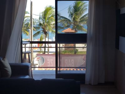 Photo for Apartment facing the sea, in the best point of Itaúna!