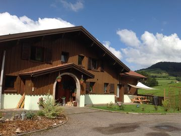 GITE 2 to 6 people in the mountains ds large chalet with heated indoor pool