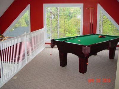 Photo for Beautiful Lake Chalet: Pool, Hot Tub, Pool Table, Boat Ramp, Boat Storage