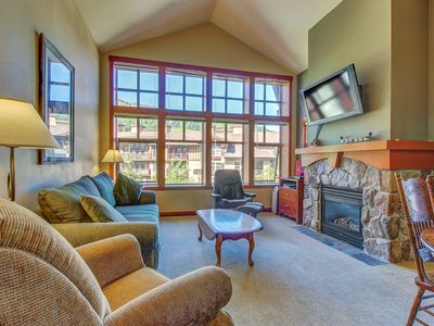 Photo for Ski-in/ski-out condo with shared hot tub, pool & more - awesome views!