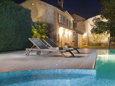 Photo for Stone Villa Castela, in Istria, with a Pool