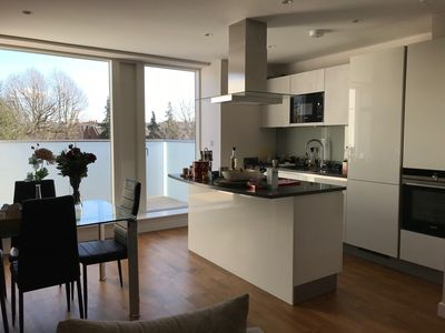 Photo for A nice 2 double bedroom in Brand newly built luxury duplex apartment. (Shared)