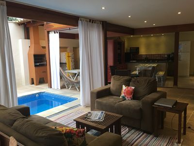 Photo for 8 suites with air cond. Swimming Pool, Barbecue, Garage, Wi-Fi, netflix